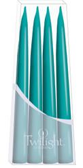 Turquoise Danish Taper - 4-pack
