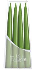 Medium Green Danish Taper - 4-pack