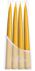 Bright Yellow Danish Taper - 4-pack