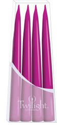 Dark Pink Danish Taper - 4-pack