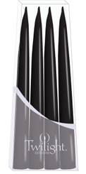 Black Danish Taper - 4-pack