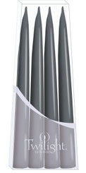 Dark Grey Danish Taper - 4-pack