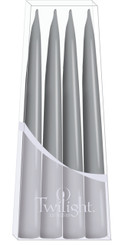 Light Grey Danish Taper - 4-pack