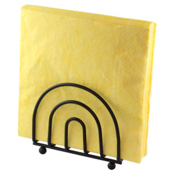 Upright Arch Black Napkin Caddy