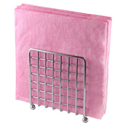 Upright Mesh Chrome Napkin Caddy