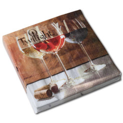 World of Wine Luncheon Napkin
