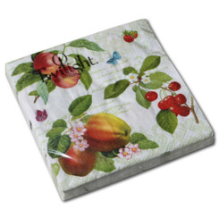 Apple Fruits Luncheon Napkin