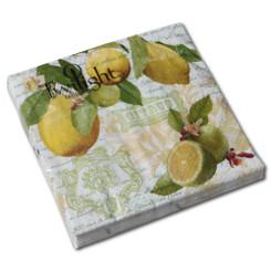 Lemon Fruits Luncheon Napkin