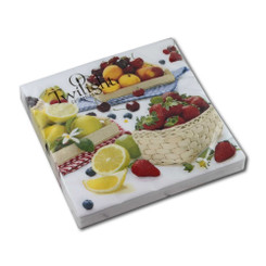 Fruit Basket Luncheon Napkin