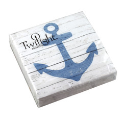 Anchor Sign Luncheon Napkin