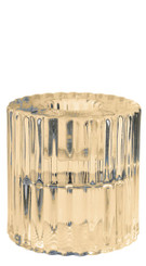 Rillo Small Candle Holder - Bronze