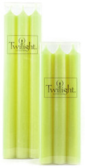 Pastel Green Dinner Candle | Six Packs