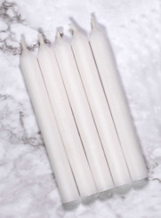 White Mini Candles | 12 Packs