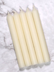 Ivory Mini Candles | 12 Packs