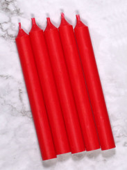 Red Mini Candles | 12 Packs