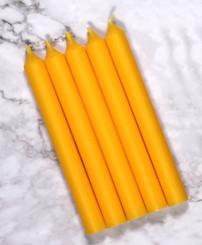 Yellow Mini Candles | 12 Packs