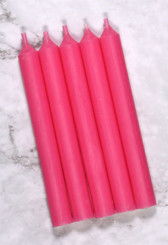 Pink Mini Candles | 12 Packs
