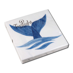 Whale Tail Luncheon Napkin