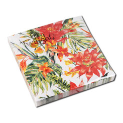 Jungle Flowers Luncheon Napkin