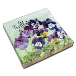 Little Pansies Luncheon Napkin