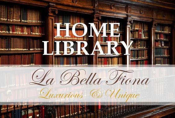 Classic Home Library Design Ideas La Bella Fiona