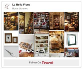 Home Libraries Pinterest Board-La Bella Fiona