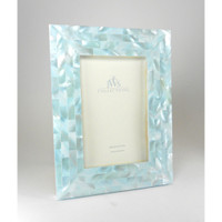 JWS Collections - Blue Mother of Pearl Picture Frames