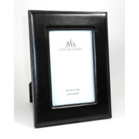 JWS Collections - Black Leather Picture Frames