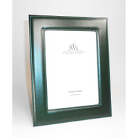 JWS Collections - Green Leather Picture Frames