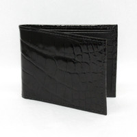 Black Alligator Wallet