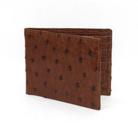 Brown Ostrich Wallet