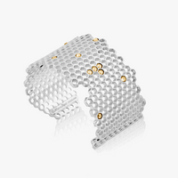 Mignon Faget - Hive Jeweled  Wide Cuff