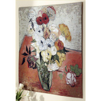 Roses and Anemones Tapestry
