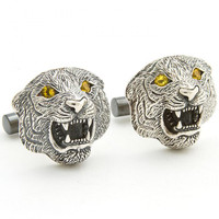 Tracey Mayer Tiger Cufflinks