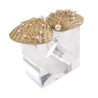 Kim Seybert  Sand Dollar Napkin Rings