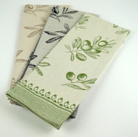 Abbiamo Tutto - Olive Kitchen Towels/Set of 3