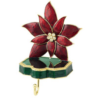 Olivia Riegel Poinsettia Stocking Holder