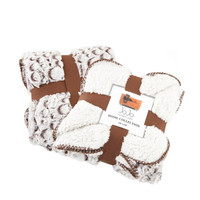Fleece Dog Blanket (Stone Brown)