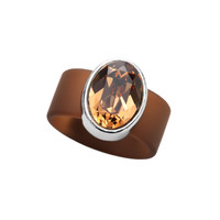Olivia Riegel Topaz Crystal Ring