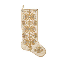 Kim Seybert Gold Tiara Stocking