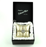 Deborah Main Silver Scroll Ornament