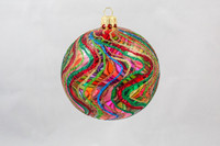 Thomas Glenn Bronze Swirl Ornament