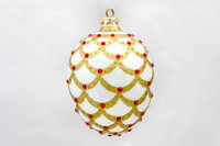 Thomas Glenn White Pine Cone Ornament