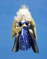 De Carlini Blue Angel Ornament
