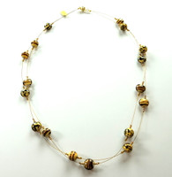 Murano Glass Safari Necklace
