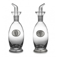 Arte Italica Tavola Oil and Vinegar Bottles