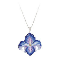 Franz - Blue Iris Necklace
