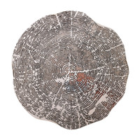 Kim Seybert Timber Placemat (Silver)