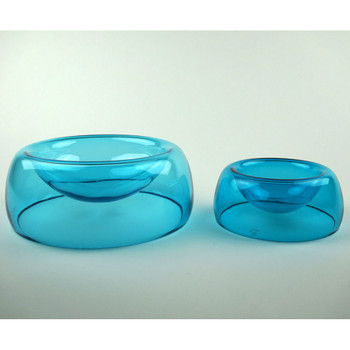 Medium Bowl shown with Small Bowl (Sold Separately) Medium and Small shown for size comparison, only.