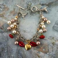 """Be Mine"" Charm Bracelet"